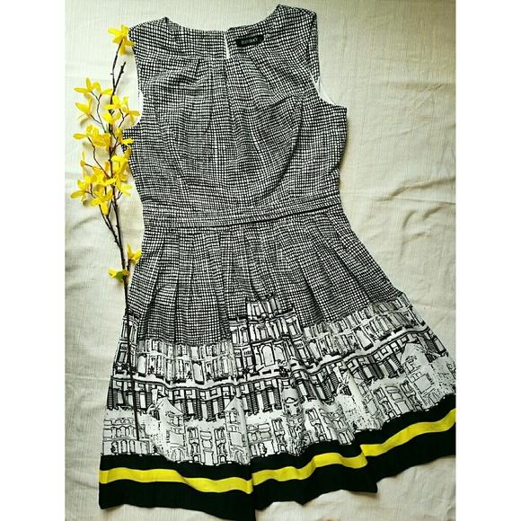 Ellen Tracy Dresses & Skirts - NEW Ellen Tracy black and white dress knee length